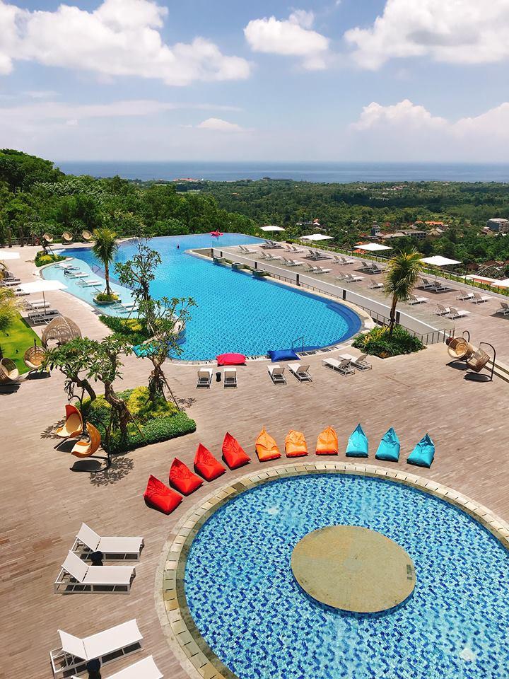 峇里島 萬麗 泳池