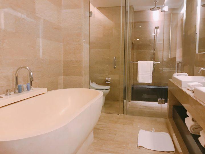 萬怡 努沙杜瓦 行政套房浴室