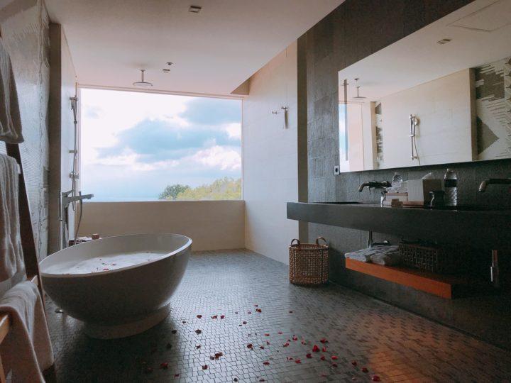 峇里島 萬麗 浴池