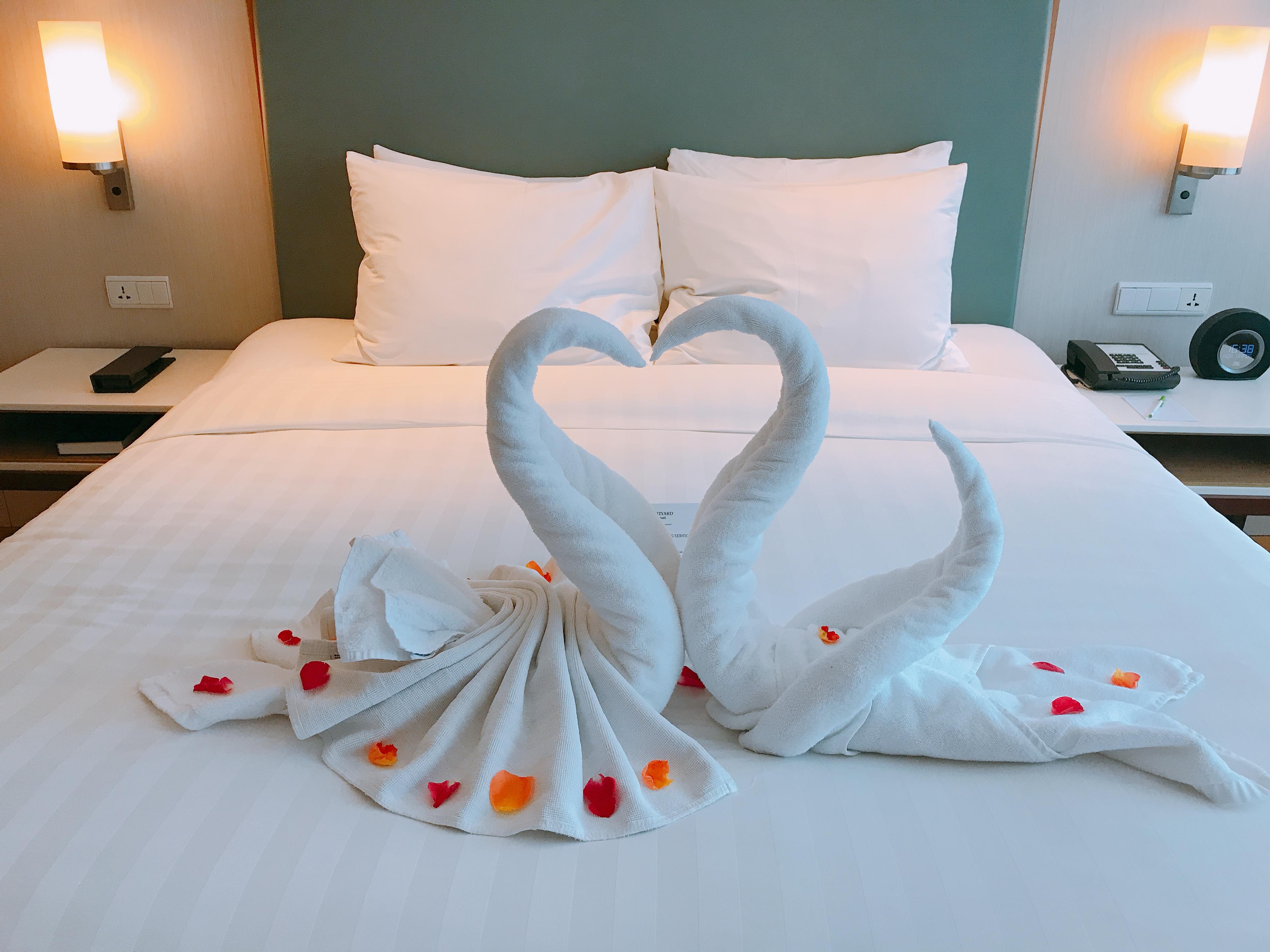 萬怡水明漾套房蜜月天鵝